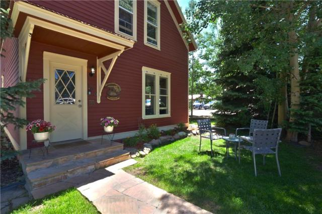 106 S French Street S, Breckenridge, CO 80424 (MLS #S1010193) :: Resort Real Estate Experts
