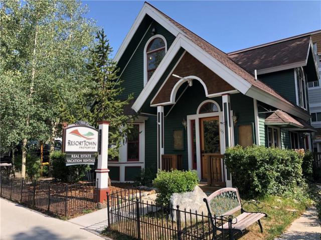 105 E Jefferson Avenue E #1, Breckenridge, CO 80424 (MLS #S1010593) :: Colorado Real Estate Summit County, LLC