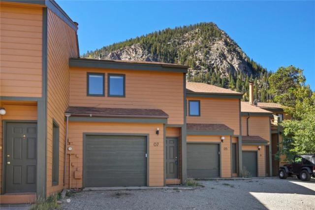 7 Granite Street #7, Frisco, CO 80443 (MLS #S1010902) :: Resort Real Estate Experts
