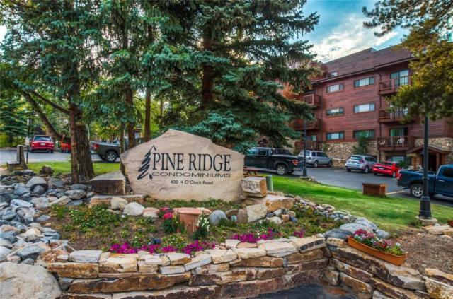 350 Four Oclock Road 5F, Breckenridge, CO 80424 (MLS #S1010959) :: Resort Real Estate Experts