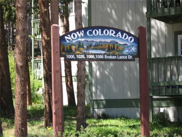 100 Now Colorado Court #6, Breckenridge, CO 80424 (MLS #S1010963) :: Resort Real Estate Experts
