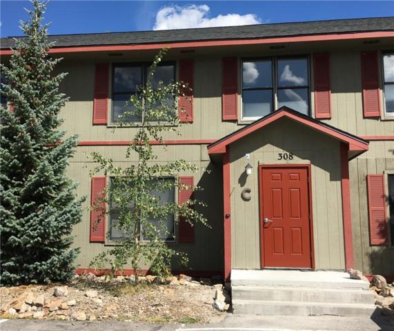 308 Illinois Gulch Road #107, Breckenridge, CO 80424 (MLS #S1011049) :: Colorado Real Estate Summit County, LLC