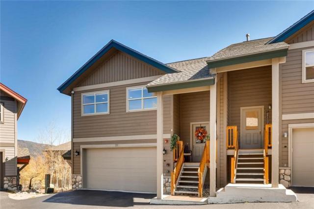 21-A Black Diamond Trail 21-A, Silverthorne, CO 80498 (MLS #S1011072) :: Colorado Real Estate Summit County, LLC