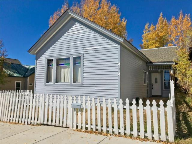 414 West 4th Street, Leadville, CO 80461 (MLS #S1011204) :: Colorado Real Estate Summit County, LLC