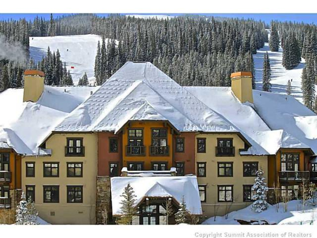 172 Beeler Place 117 B, Copper Mountain, CO 80443 (MLS #S1011516) :: Colorado Real Estate Summit County, LLC
