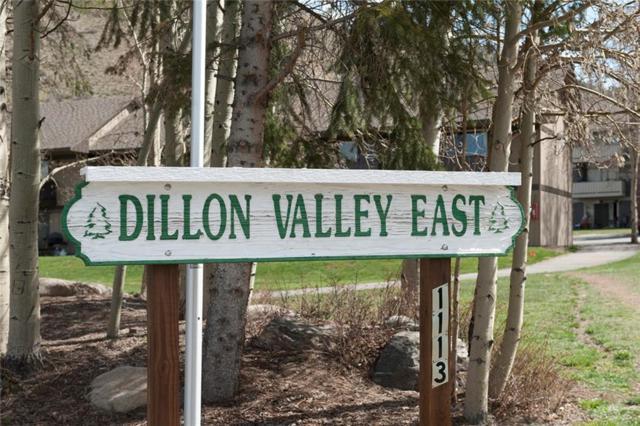 1153 Straight Creek Drive #103, Dillon, CO 80435 (MLS #S1011519) :: Colorado Real Estate Summit County, LLC