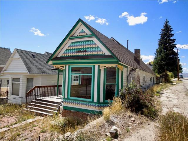 821 Harrison Avenue #0, Leadville, CO 80461 (MLS #S1011731) :: Colorado Real Estate Summit County, LLC