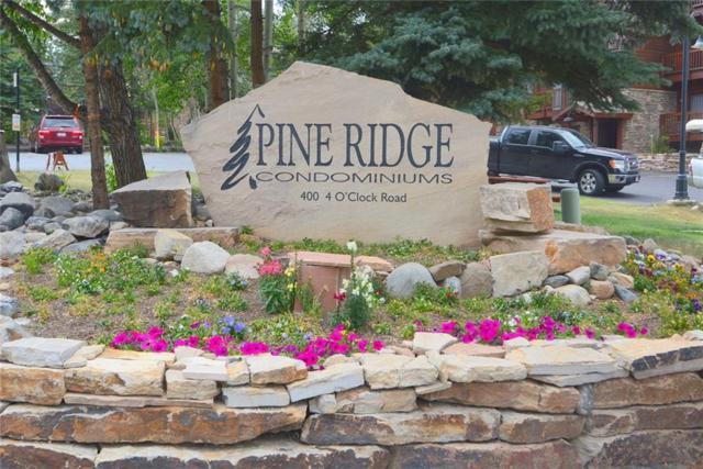 405 Four Oclock Road 11E, Breckenridge, CO 80424 (MLS #S1011827) :: Resort Real Estate Experts