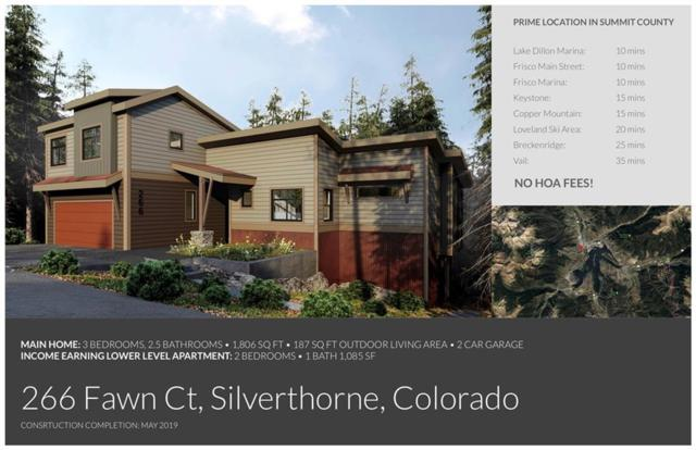 266 Fawn Court, Silverthorne, CO 80498 (MLS #S1011916) :: Colorado Real Estate Summit County, LLC