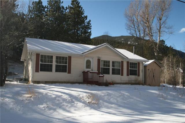 721 Silver Lakes Drive, DUMONT, CO 80436 (MLS #S1011966) :: Colorado Real Estate Summit County, LLC
