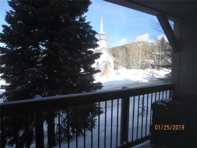 107 N Harris Street N #119, Breckenridge, CO 80424 (MLS #S1011988) :: Colorado Real Estate Summit County, LLC