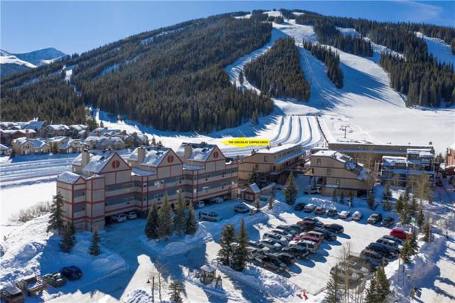 82 Wheeler Circle #115, Copper Mountain, CO 80443 (MLS #S1012541) :: Resort Real Estate Experts