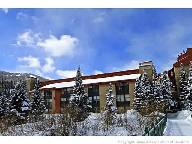 189 Ten Mile Circle 447/449, Copper Mountain, CO 80443 (MLS #S1012809) :: Dwell Summit Real Estate