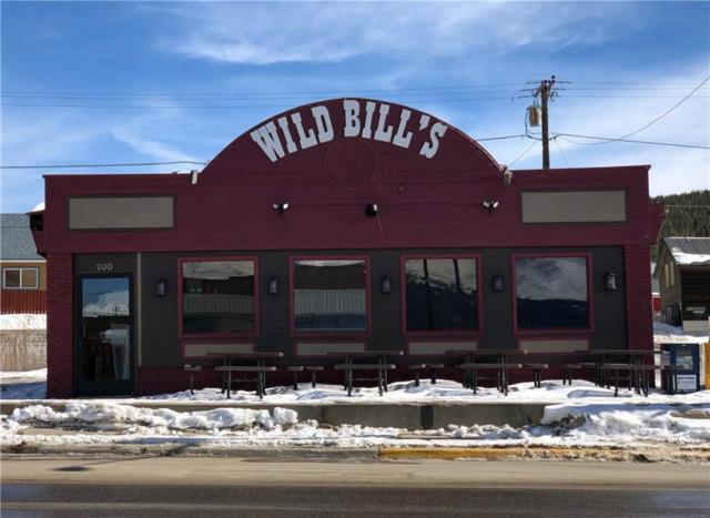 200 Harrison Avenue, Leadville, CO 80461 (MLS #S1012872) :: Colorado Real Estate Summit County, LLC