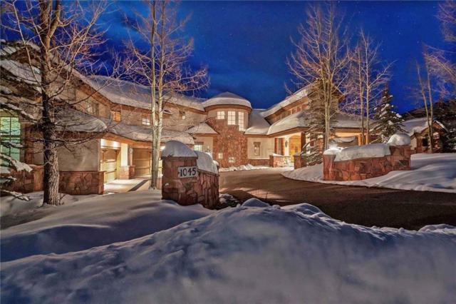1045 Four Oclock Road, Breckenridge, CO 80424 (MLS #S1012960) :: Resort Real Estate Experts