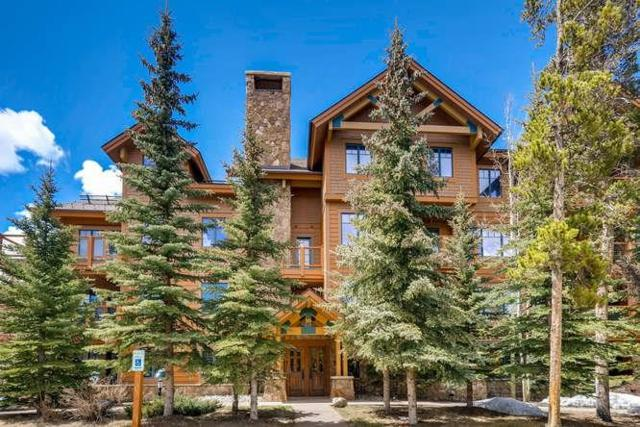 35 Mountain Thunder Drive #5105, Breckenridge, CO 80424 (MLS #S1013010) :: Colorado Real Estate Summit County, LLC