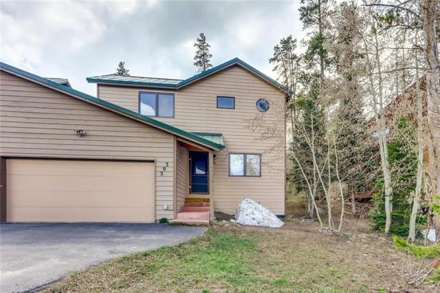 303 Cutty Sark Court, Silverthorne, CO 80498 (MLS #S1013369) :: Colorado Real Estate Summit County, LLC