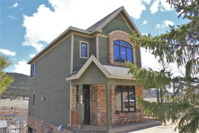 340 N Oak Street, Alma, CO 80420 (MLS #S1013373) :: Colorado Real Estate Summit County, LLC