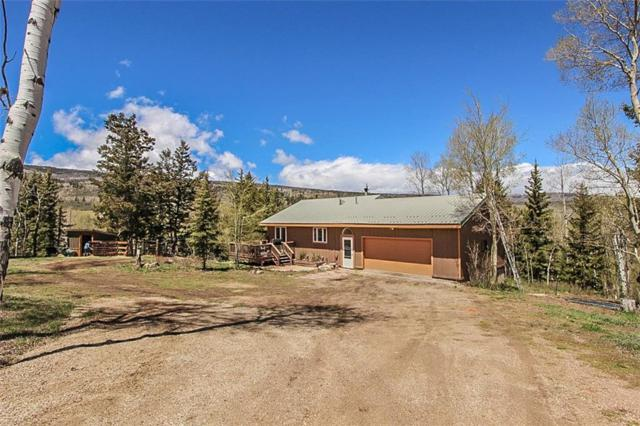 857 County Road 1933, Kremmling, CO 80459 (MLS #S1013522) :: Colorado Real Estate Summit County, LLC
