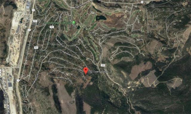 132 Evans Court, Breckenridge, CO 80424 (MLS #S1014042) :: Colorado Real Estate Summit County, LLC