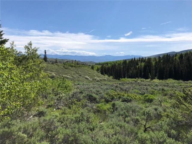 1572 County Road 162, Kremmling, CO 80459 (MLS #S1014065) :: Colorado Real Estate Summit County, LLC