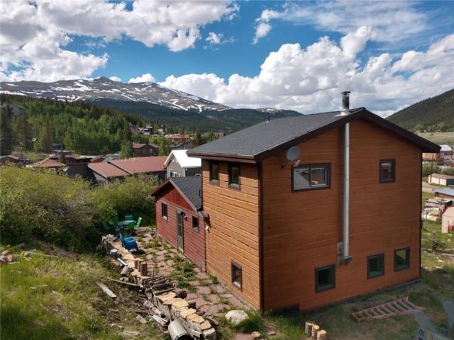 29 Oak Street, Alma, CO 80420 (MLS #S1014176) :: Colorado Real Estate Summit County, LLC
