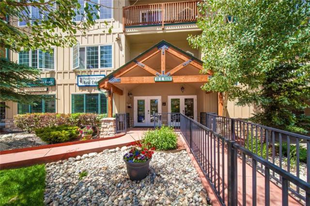 101 E Main Street E C108-C110, Frisco, CO 80443 (MLS #S1014460) :: Colorado Real Estate Summit County, LLC