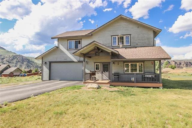 545 E Sumner Avenue, Hot Sulphur, CO 80451 (MLS #S1014495) :: Colorado Real Estate Summit County, LLC