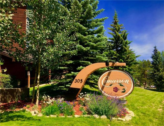 305 S Park Avenue S #304, Breckenridge, CO 80424 (MLS #S1014515) :: Colorado Real Estate Summit County, LLC