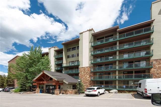 455 Village Road #115, Breckenridge, CO 80424 (MLS #S1014846) :: Dwell Summit Real Estate