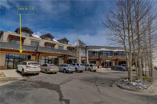 256 Dillon Ridge Road A-13, Dillon, CO 80435 (MLS #S1015105) :: Colorado Real Estate Summit County, LLC