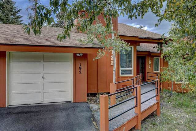 192 Poplar Circle, Silverthorne, CO 80498 (MLS #S1015380) :: Colorado Real Estate Summit County, LLC