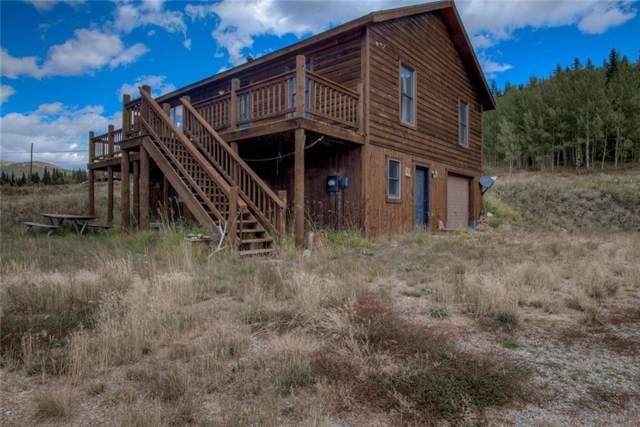 1484 Co 4 Road, Alma, CO 80420 (MLS #S1015420) :: Colorado Real Estate Summit County, LLC