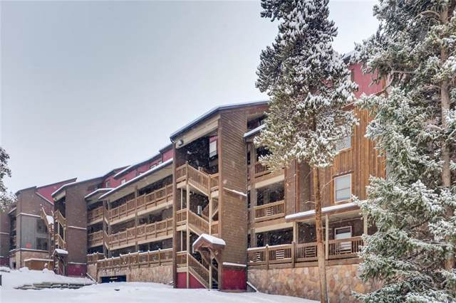 800 Four Oclock Road 3C, Breckenridge, CO 80424 (MLS #S1015704) :: Dwell Summit Real Estate