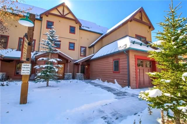 58 Hawk Circle #2339, Keystone, CO 80435 (MLS #S1015801) :: Colorado Real Estate Summit County, LLC