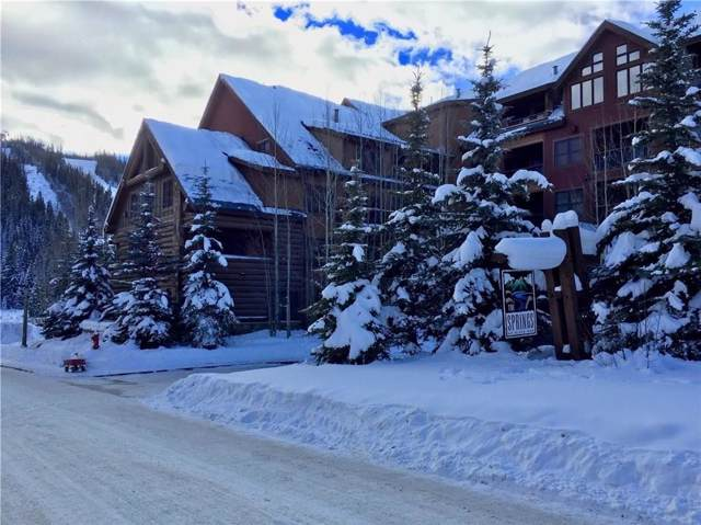 53 Hunki Dori Court #8826, Keystone, CO 80435 (MLS #S1015928) :: Colorado Real Estate Summit County, LLC