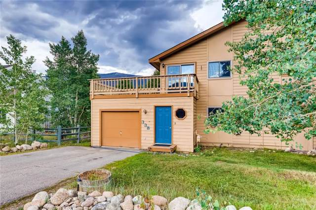 338 N Chipmunk Circle N, Silverthorne, CO 80498 (MLS #S1015964) :: Colorado Real Estate Summit County, LLC