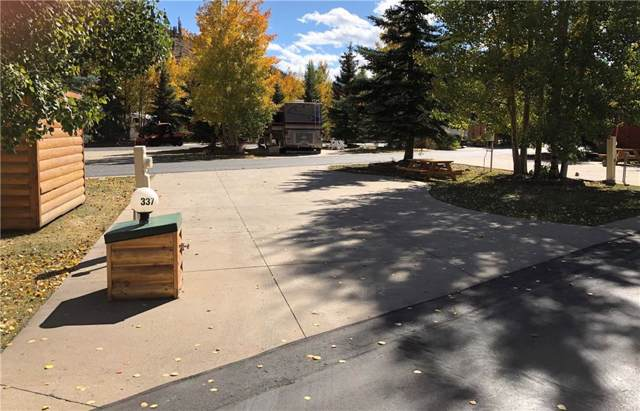 85 Revett #337 Drive, Breckenridge, CO 80424 (MLS #S1015993) :: Dwell Summit Real Estate