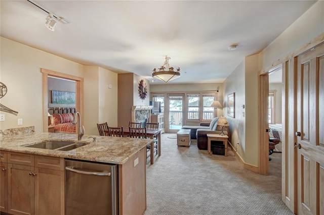 105 Wheeler Circle #320, Copper Mountain, CO 80443 (MLS #S1017202) :: Colorado Real Estate Summit County, LLC