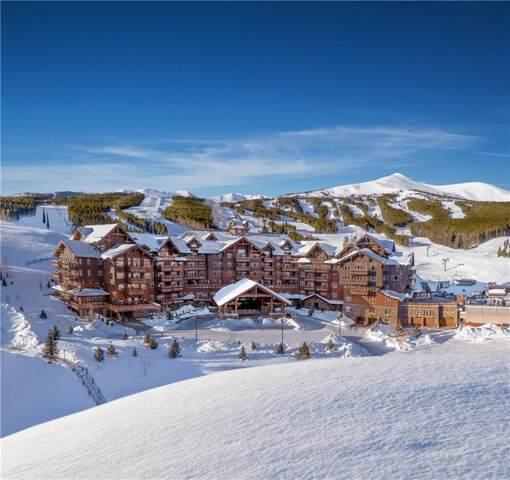 1521 Ski Hill Road #8201, Breckenridge, CO 80424 (MLS #S1017209) :: Colorado Real Estate Summit County, LLC