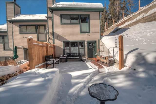 217 S Fuller Placer Road #1, Breckenridge, CO 80424 (MLS #S1017249) :: Colorado Real Estate Summit County, LLC
