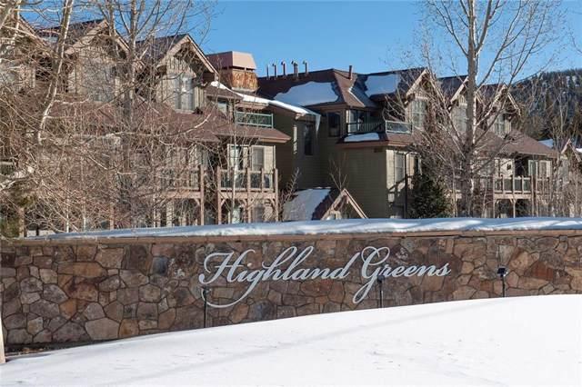 34 Highfield Trail #210, Breckenridge, CO 80424 (MLS #S1017254) :: eXp Realty LLC - Resort eXperts