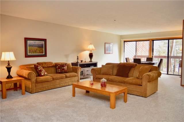305 S Park Avenue S #202, Breckenridge, CO 80424 (MLS #S1017375) :: Colorado Real Estate Summit County, LLC