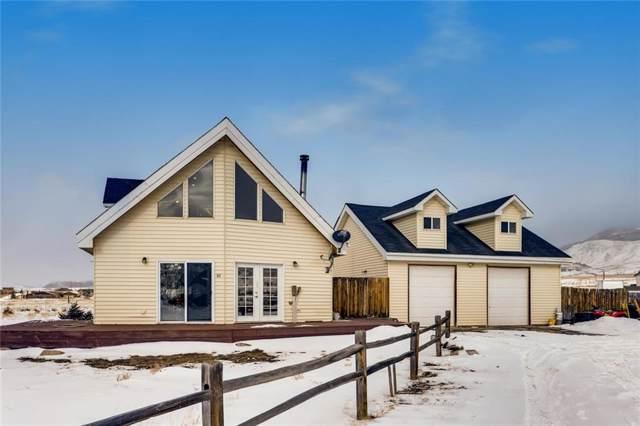 82 Gcr 100, Kremmling, CO 80459 (MLS #S1017388) :: Dwell Summit Real Estate