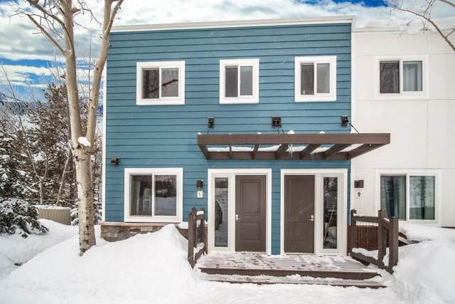 414 Tenderfoot Street W #1, Dillon, CO 80435 (MLS #S1017530) :: Colorado Real Estate Summit County, LLC