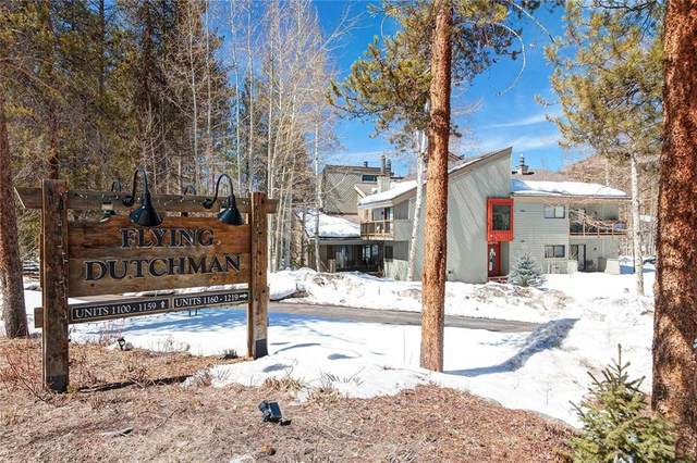 1977 Soda Ridge Road #1167, Keystone, CO 80435 (MLS #S1017980) :: Colorado Real Estate Summit County, LLC