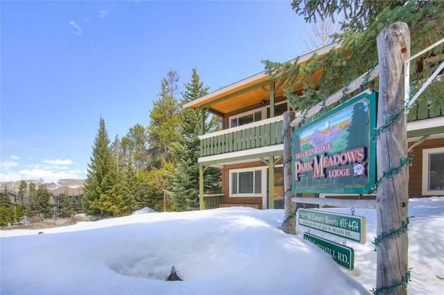 110 Sawmill Road 3A, Breckenridge, CO 80424 (MLS #S1018150) :: Dwell Summit Real Estate
