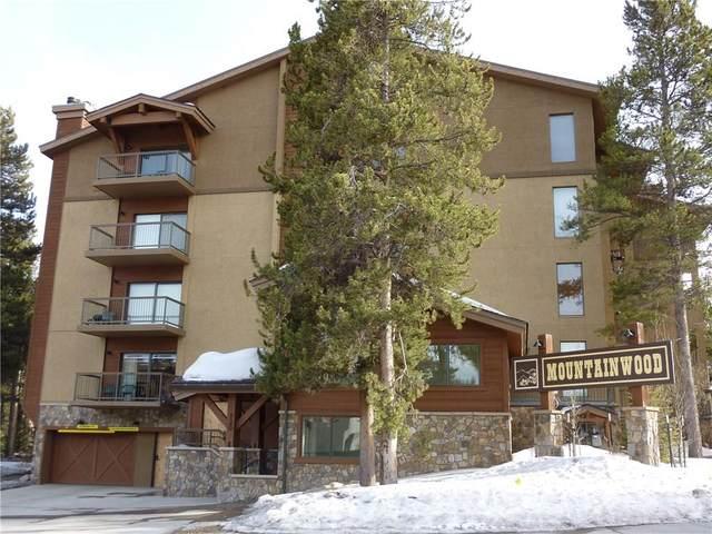 720 Columbine Road #101, Breckenridge, CO 80424 (MLS #S1018478) :: Colorado Real Estate Summit County, LLC