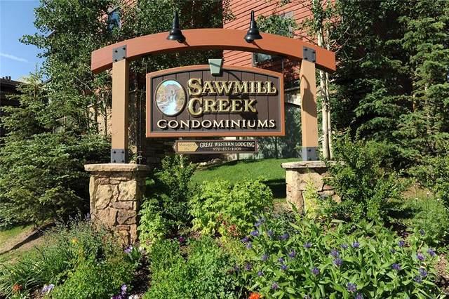 105 S Park Avenue #215, Breckenridge, CO 80424 (MLS #S1018681) :: Dwell Summit Real Estate