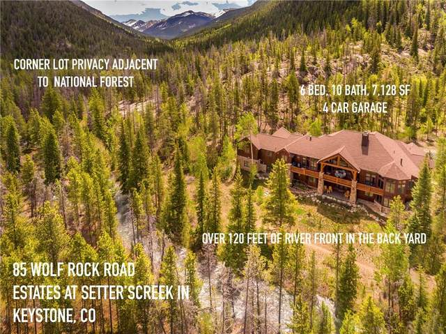 85 Wolf Rock Road, Keystone, CO 80435 (MLS #S1018724) :: Colorado Real Estate Summit County, LLC